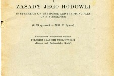 Systematyka Konia i Zasady Jego Hodowli (Systematics of the Horse and the Principles of his Breeding)