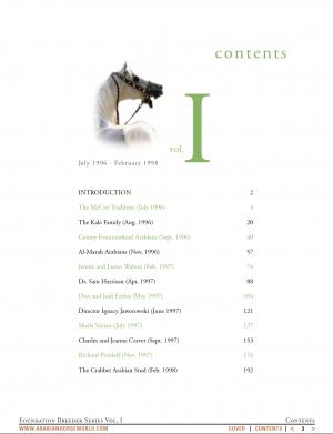 Foundation Breeder series, vol. 1, by Mary Jane Parkinson