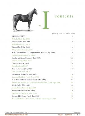 Heritage Breeders series, vol. 1, by Mary Jane Parkinson