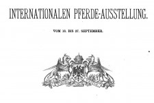 Catalog der International Pferde-ausstellug