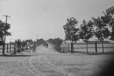 RAS Entrance to Presentation Area, unlabeled, 1940s