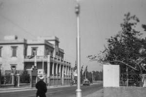 Street Corner near RAS, Cairo? unlabeled, 1940s